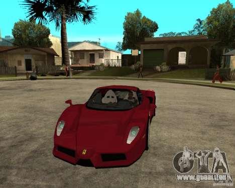 Ferrari ENZO 2003 v.2 final für GTA San Andreas Rückansicht