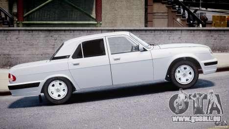 GAZ 31105 für GTA 4 Innenansicht