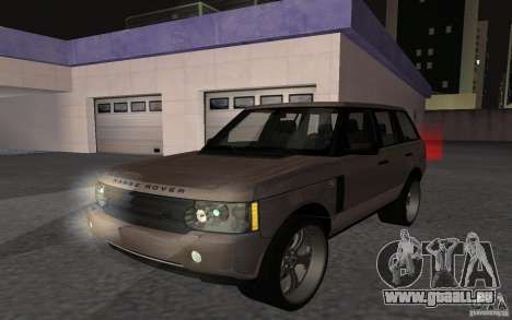 Land Rover Supercharged pour GTA San Andreas