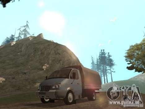 GAZ-3310 Valdaï pour GTA San Andreas laissé vue