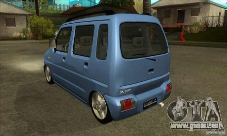 Suzuki Karimun GX pour GTA San Andreas sur la vue arrière gauche