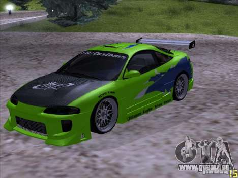 Mitsubishi Eclipse 1998 - FnF pour GTA San Andreas