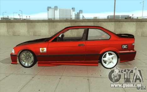 BMW Fan Drift Bolidas pour GTA San Andreas laissé vue