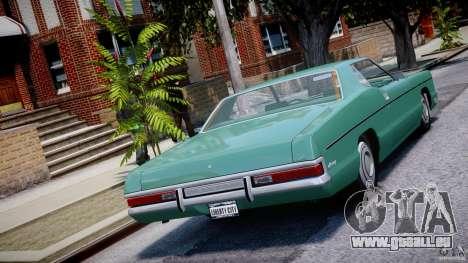 Mercury Monterey 2DR 1972 für GTA 4 hinten links Ansicht