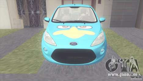 Ford Ka Stance Perry Edtion für GTA San Andreas linke Ansicht