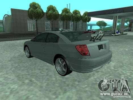 Saturn Ion Quad Coupe 2004 für GTA San Andreas Motor