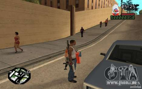 Kinder Surprise pour GTA San Andreas troisième écran