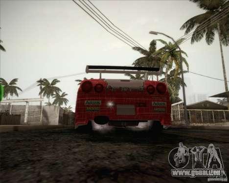 Nissan Skyline Z-Tune v2.0 für GTA San Andreas Unteransicht