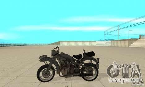 Bike Wolfenstein pour GTA San Andreas laissé vue