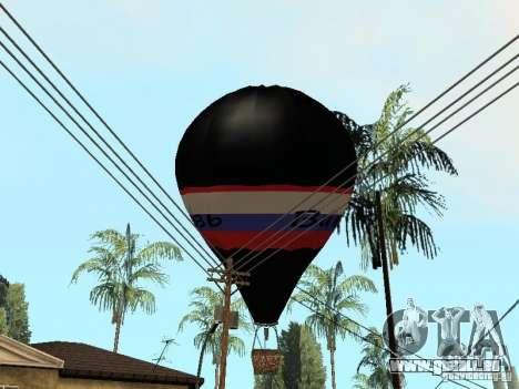 Ballon Witjas für GTA San Andreas rechten Ansicht