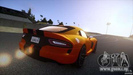 Dodge Viper GTS 2013 v1.0 pour GTA 4 est une gauche