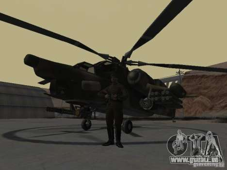Mil Mi-28 für GTA San Andreas linke Ansicht