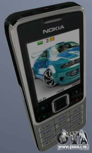 Nokia 6300 Mobile für GTA San Andreas
