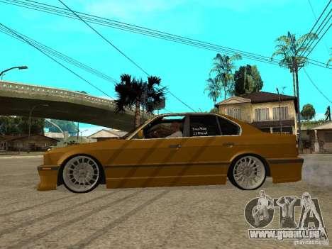 BMW e34 Drift Body pour GTA San Andreas laissé vue