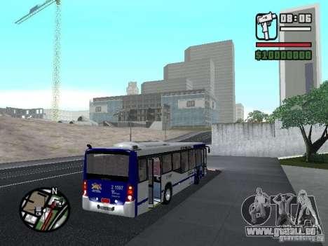 Busscar Urbanuss Ecoss MB 0500U Sambaiba pour GTA San Andreas vue de droite