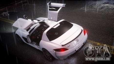 Mercedes-Benz SLS 2011 Brabus AMG Widestar v1.1 für GTA 4 linke Ansicht