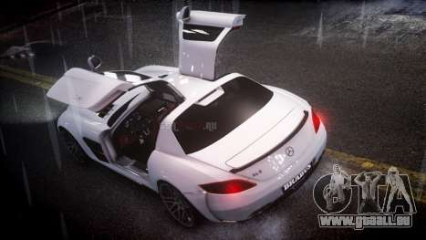 Mercedes-Benz SLS 2011 Brabus AMG Widestar v1.1 pour GTA 4 est une gauche