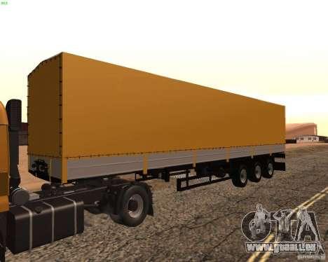 Remorque Nefaz de Truckers 2 pour GTA San Andreas