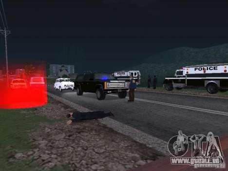 Police Post für GTA San Andreas zweiten Screenshot