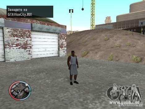 Masquage pour GTA San Andreas deuxième écran