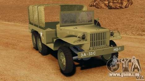 Dodge WC-62 3 Truck für GTA 4