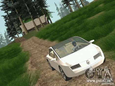 Renault Vel Satis pour GTA San Andreas sur la vue arrière gauche