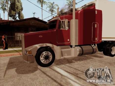 Peterbilt 377 für GTA San Andreas Innenansicht
