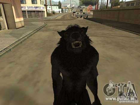 Werewolf from The Elder Scrolls 5 pour GTA San Andreas