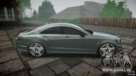 Mercedes Benz CLS 63 AMG 2012 für GTA 4 Seitenansicht