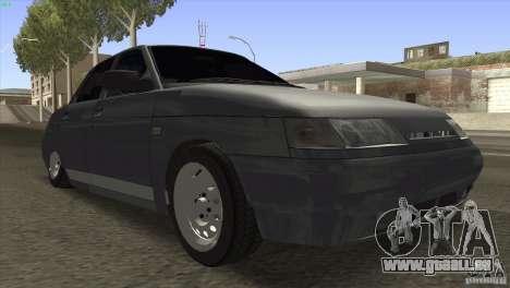 VAZ 2110 Dag pour GTA San Andreas vue arrière