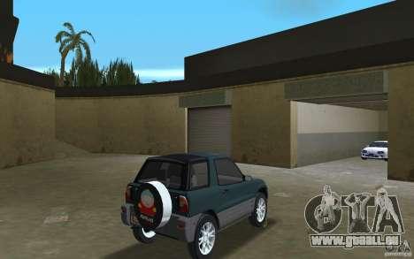 Toyota RAV4 pour une vue GTA Vice City de la droite