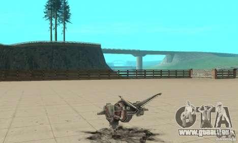 MOSKIT pour GTA San Andreas sur la vue arrière gauche