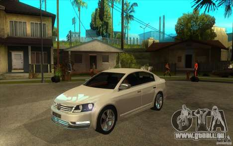 Volkswagen Passat 2.0 TDI Bluemotion 2011 für GTA San Andreas