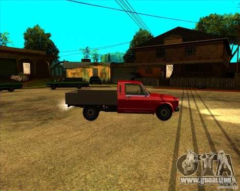 CEP 2345 pour GTA San Andreas laissé vue