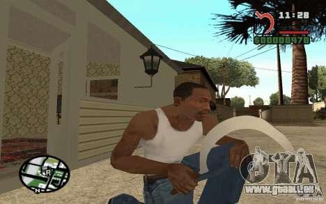 Marteau et la faucille pour GTA San Andreas troisième écran