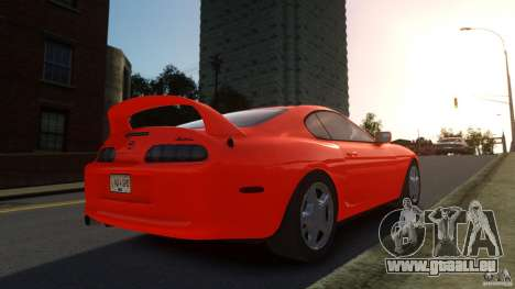 Toyota Supra für GTA 4 linke Ansicht