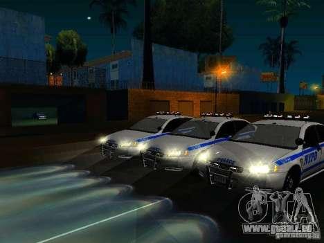 Chevrolet Impala NYPD für GTA San Andreas Innen