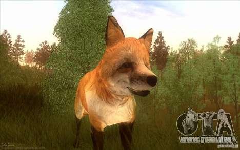 Wild Life Mod 0.1b pour GTA San Andreas quatrième écran