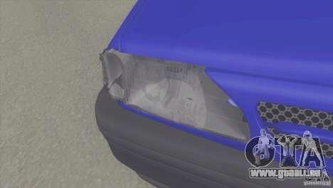 Kia Pride 131 SX pour GTA San Andreas vue de droite