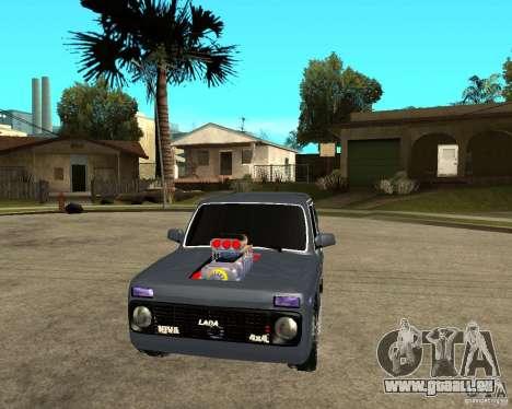 NIVA Mustang pour GTA San Andreas vue arrière