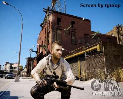 Modern Warfare 3 Soap Africa pour GTA 4 troisième écran
