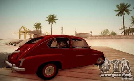 Zastava 750 pour GTA San Andreas laissé vue