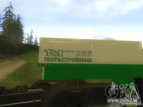 TCM remorque-993910 pour GTA San Andreas vue intérieure