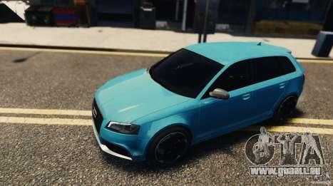 Audi RS3 Sportback V1.0 für GTA 4 hinten links Ansicht