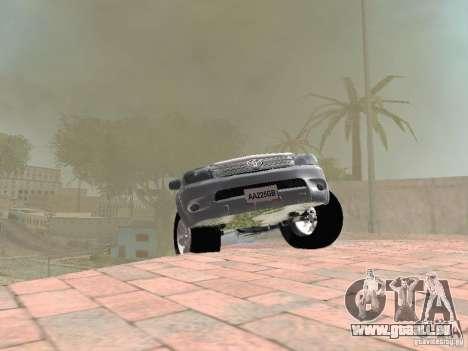 Toyota Hilux pour GTA San Andreas vue de côté