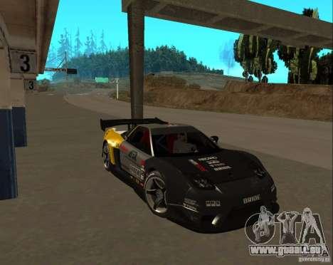 Acura NSX Sumiyaka für GTA San Andreas rechten Ansicht