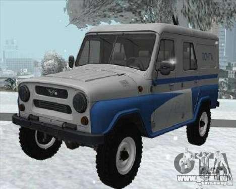 UAZ - 469P für GTA San Andreas