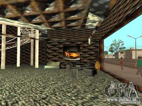 Neuer Lamborghini Showroom in San Fierro für GTA San Andreas her Screenshot