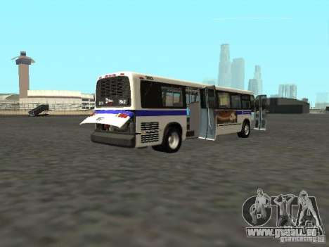 GMC RTS MTA New York City Bus für GTA San Andreas rechten Ansicht