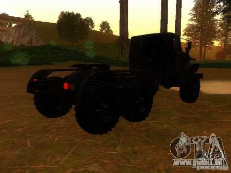 Ural-4420-Traktor für GTA San Andreas rechten Ansicht